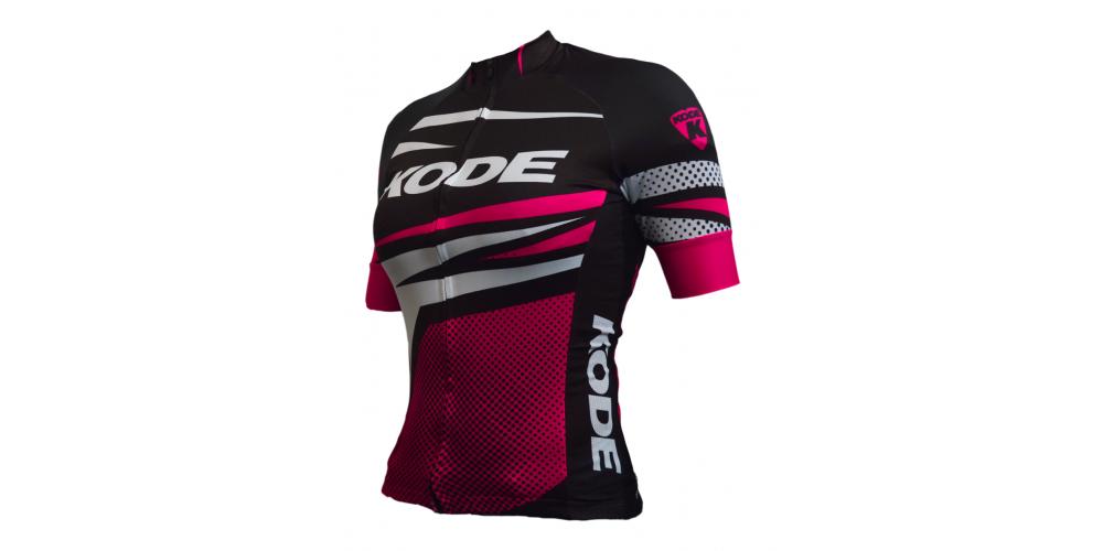Imagem ilustrativa de Camisa de Ciclismo Feminina Stripes