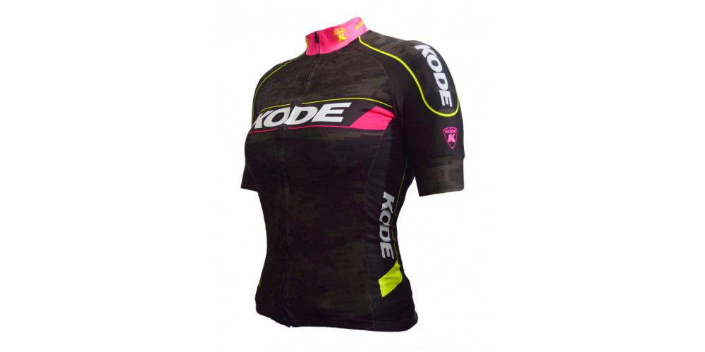Imagem ilustrativa de Camisa de Ciclismo Feminina Camo