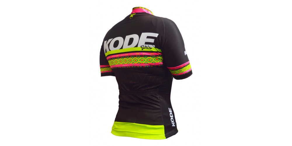 Imagem ilustrativa de Camisa de Ciclismo Feminina Ethnic
