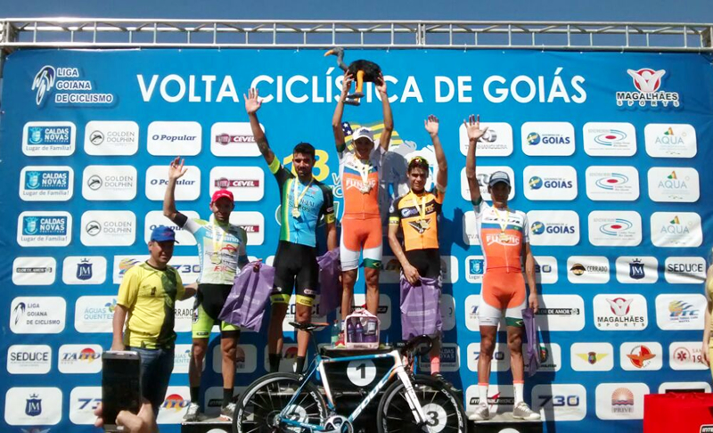 Ciclismo SJC - Pódio da 3ª etapa