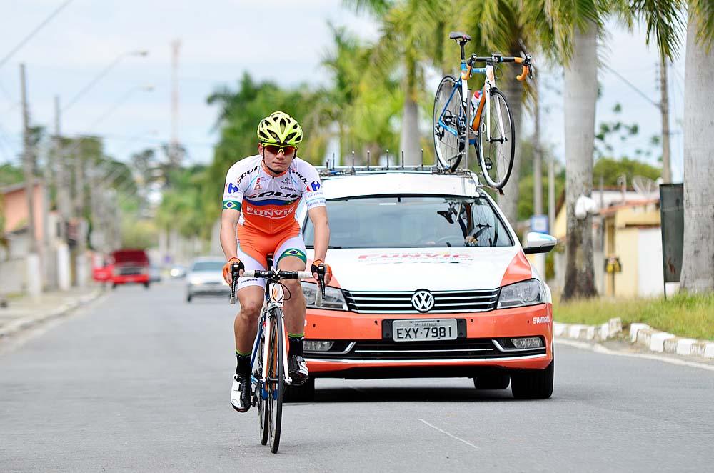 Ciclismo - Gabriel durante seu primeiro treino cópia